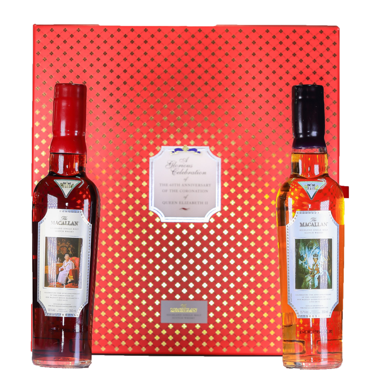 Macallan coronation bottling queen elizabeth ii 60th anniversary