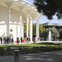 Photo of Beckman Auditorium