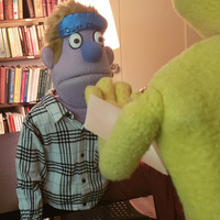 Avenue Q's Princeton and Rod in conversation.