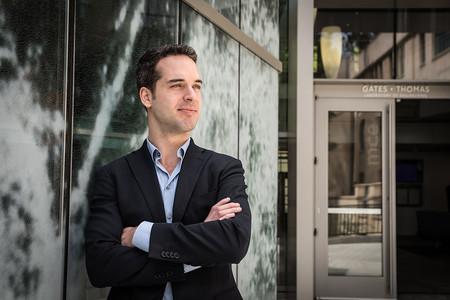 Caltech doctoral student Nicholas Burali