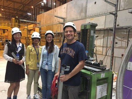 Students at CERN