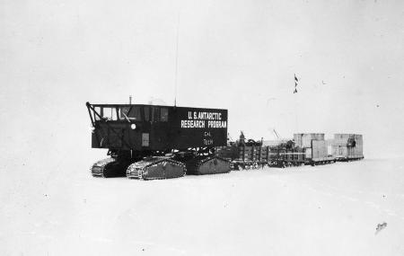 An Sno-Cat from a 1966 expedition to Antarctica.