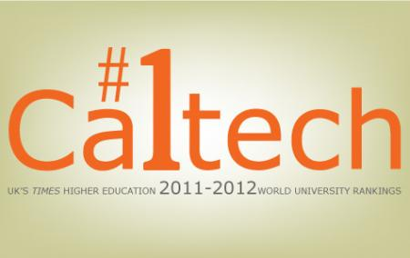 The World University Rankings of Higher Ed are topped by faculty rankings information Caltech