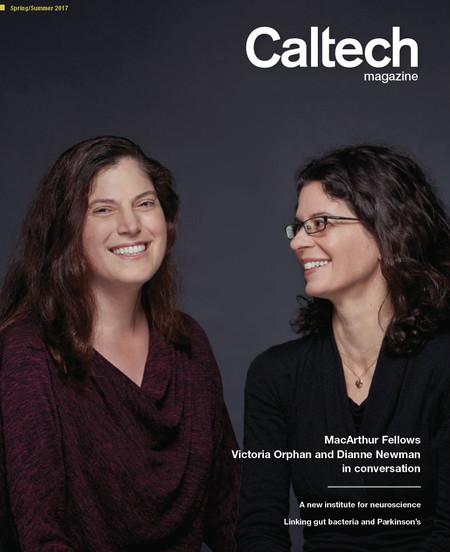 image of Caltech magazine