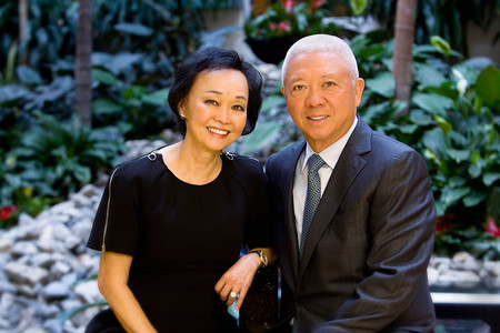 photo of Andrew and Peggy Cherng
