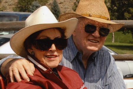 photo of Lenabelle and Allen Davis