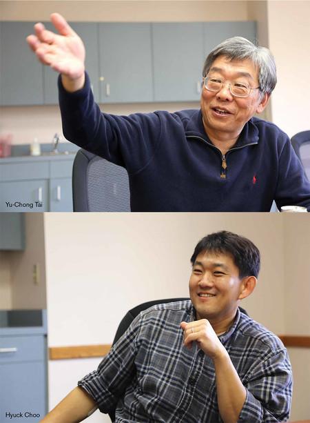 photo of Yu-Chong Tai & Hyuck Choo