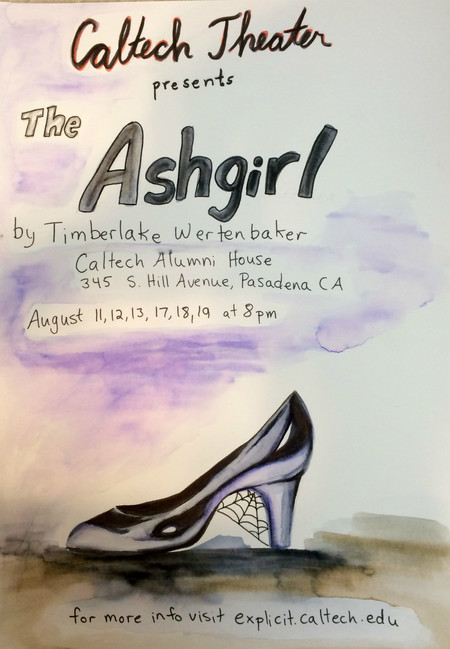 "poster for ""The Ash Girl"""