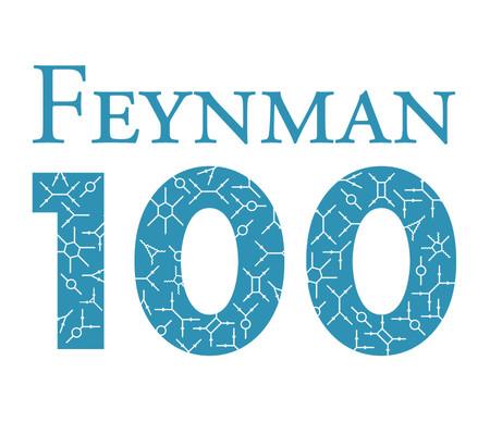 Feynman 100 logo