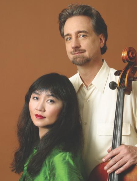 Photo of David Finckel and Wu Han