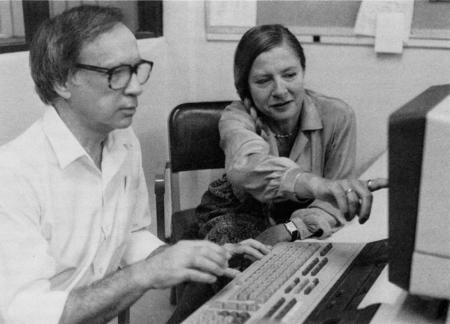Fred and Bozena Thompson teach a PC to understand English.