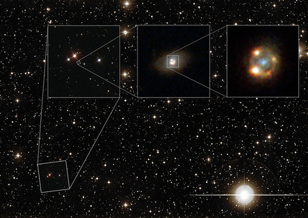 Composite image shows Type Ia supernova iPTF16geu.