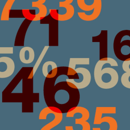 Numbers graphic