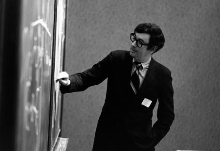 Harry Gray lecturing in 1970