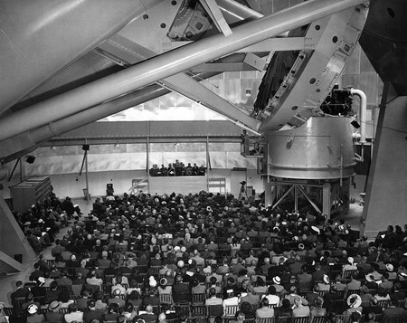 Dedication of the Hale Telescope, June 1948.