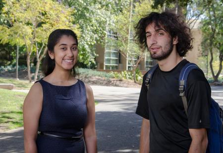 Janani Mandayan Comar and Aaron Krupp