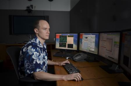 Evan Kirby, Caltech assistant professor of astronomy