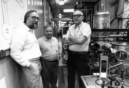 Kip Thorne, Ron Drever, and Robbie Vogt
