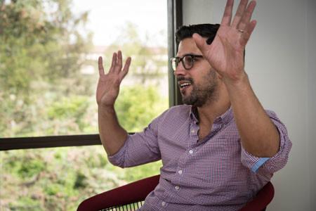 Assistant Professor of Political Science Gabriel Lopez-Moctezuma