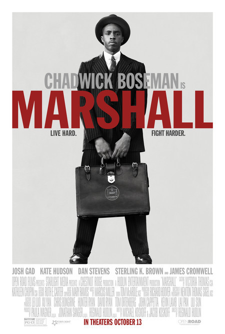 Poster for the movie Marshall