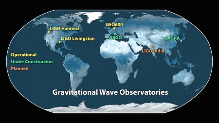 Map of LIGO sites