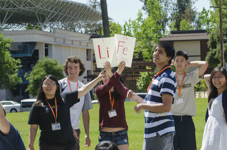 Students explore Caltech life during Prefrosh Weekend.