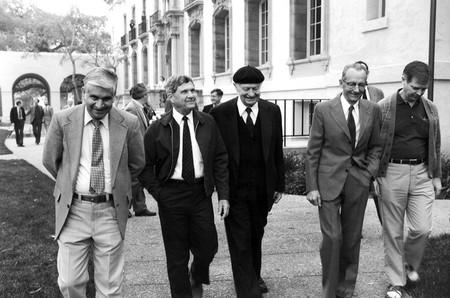 Richard Marsh with Linus Pauling