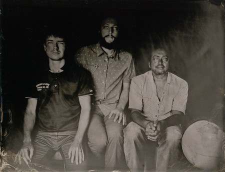 A tintype photograph from the event