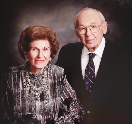 Warren G. Schlinger and Katharine Stewart Schlinger