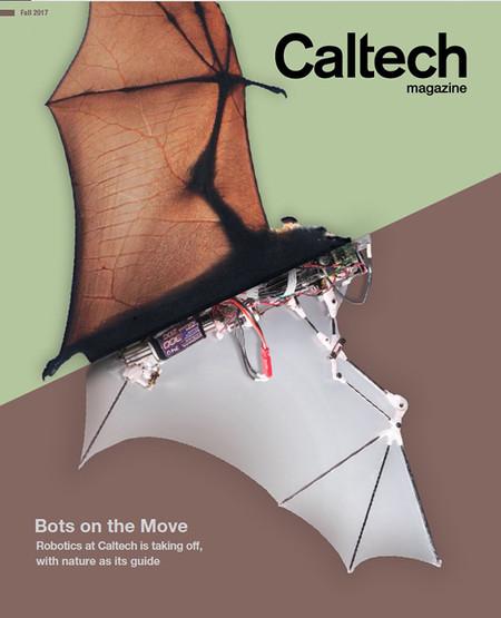 Caltech magazine cover