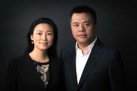 photo of Chrissy Luo and Tianqiao Chen