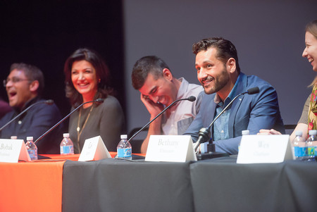 Panelists on The Expanse panel