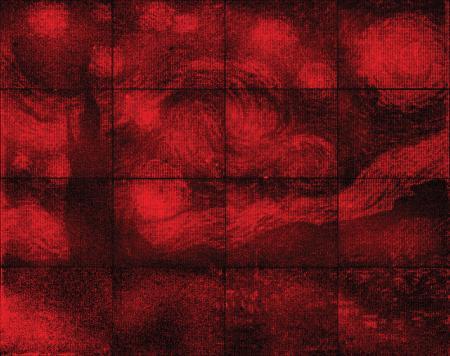Microscopic Van Gogh