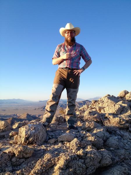 Caltech Professor of Geobiology Woody Fischer