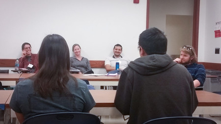 Undergraduate research mentors discuss mentoring experiences with Caltech students.