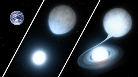 Artwork of binary stars