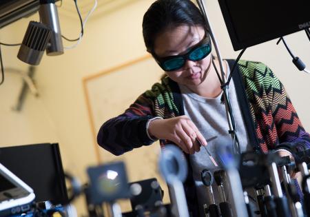 Liuyan Zhao at Caltech