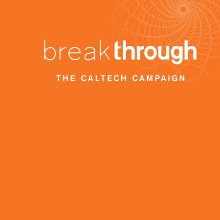 logo for Caltech's Break Through campaign