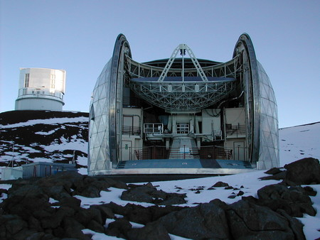 photo of the Caltech Submillimeter Observatory (CSO)