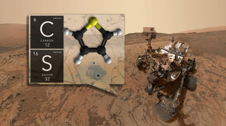 image of Curiosity rover