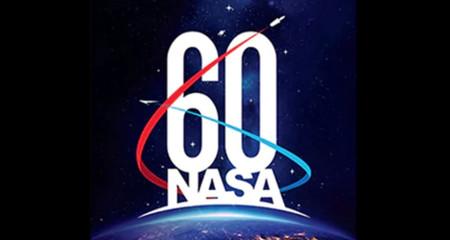 logo for NASA's 60th anniversary