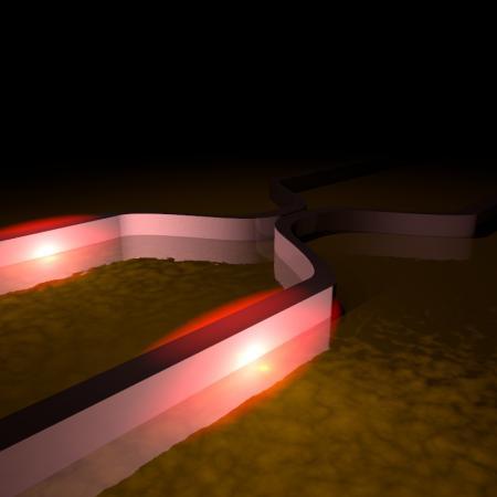 Plasmonic Wavequide