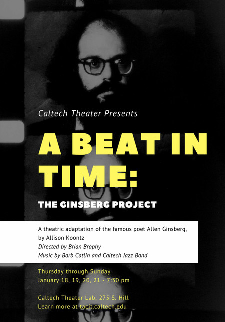 "image of the poster for ""A Beat in Time"""