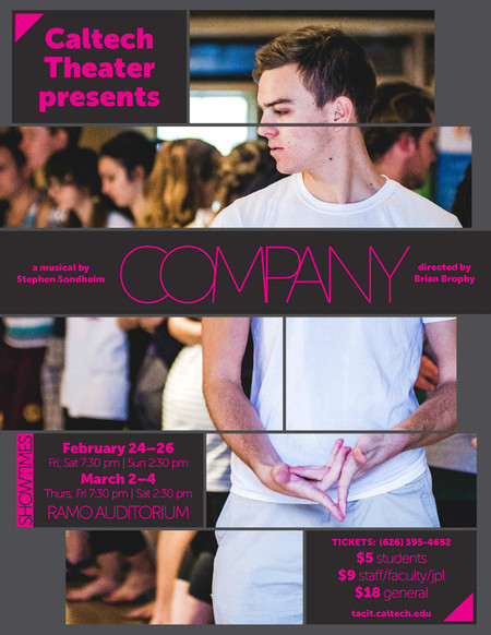 """poster for the show """"Company"""""""