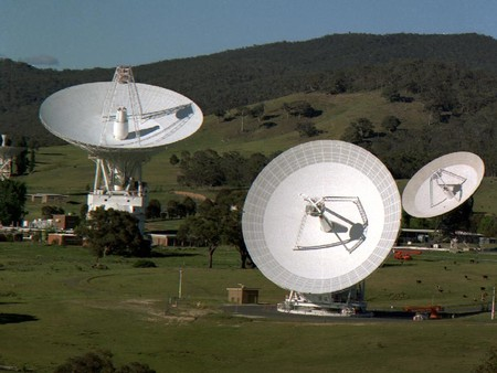 photo of Canberra Deep Space Communications Complex in Australia