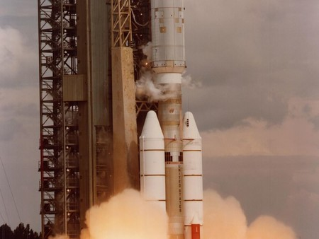 Launch of Voyager 2