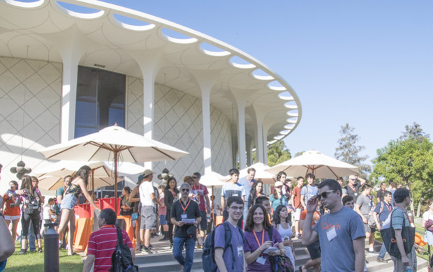 Incoming students and postdoctoral scholars gathered with friends, family, and Caltech faculty and administrators at the 16th annual convocation ceremony.