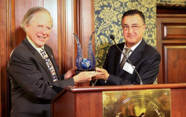 Award presentation
