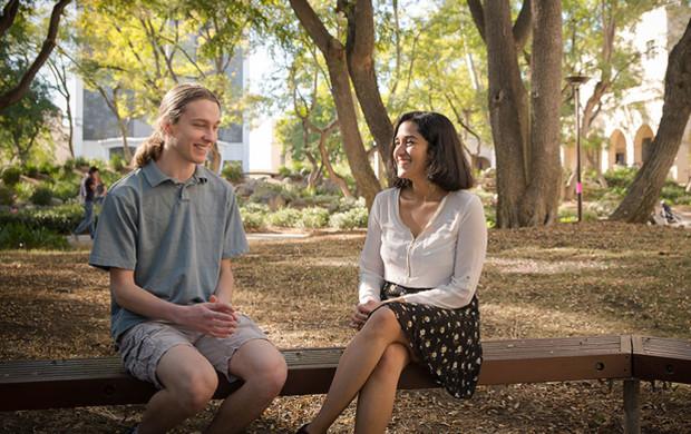 Matthew Weidner and Aishwarya Nene