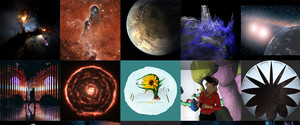 Mosaic of images from the workshop.